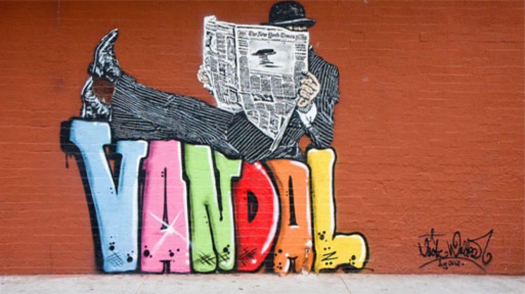 incəsənət, yoxsa vandalizm?