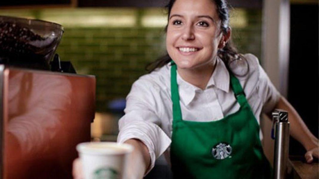 Starbucks-da maraqlı gün